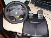 Игровая приставка руль и педали