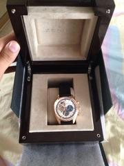 Часы золотые Zenith