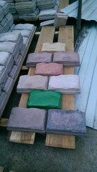 Блоки,  брусчатка,  тротуарные плиты,  заборы из кремне-гранита