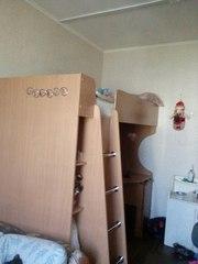 Продам кровать-чердак с рабочей зоной