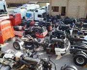 Запчасти б/у для грузовых автомобилей,  большой ассортимент,  доставка п