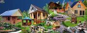 Строительство деревянного дома,  бани. Брус.  Красноярск  м