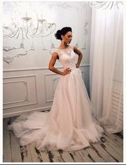 7bff77589288f06 Платье свадебное новое красивое. Свадебное платье размер 42-44, состояние  ...