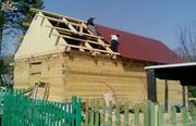 Дом. Баня из бруса под ключ.  Красноярск