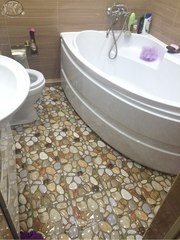 Облицовка. Кафель. Плитка. Ремонт ванной комнаты. Красноярск