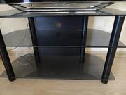 Стеклянный стол под телевизор бронированное стекло